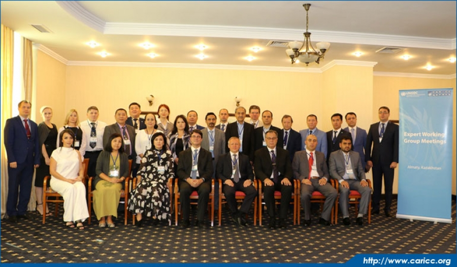 Second working meeting of heads of information and analytical units of national coordinating authorities and leading narcology specialists of drug treatment centers of Member States held at CARICC