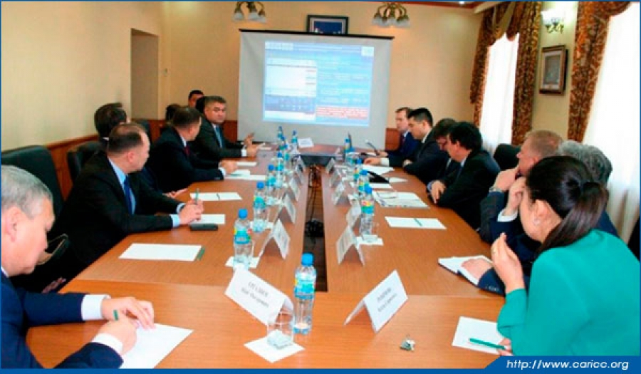 CARICC hosts working meeting with First Deputy Minister of Internal Affairs of the Republic of Kazakhstan and First Deputy Minister of Internal Affairs of the Republic of Uzbekistan