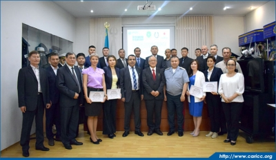 Training for officers of Border Service of the National Security Committee of the Republic of Kazakhstan on use of software