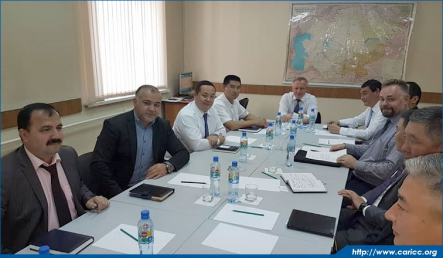 Director of CARICC meets with representative of German Federal Criminal Police Office in Kazakhstan