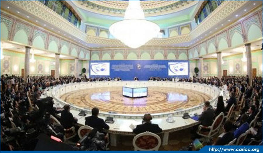 Director of CARICC attends Plenary Meeting of High-level Conference
