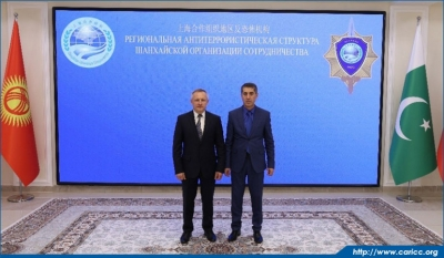 CARICC Director meets with Director of SCO RATS Executive Committee
